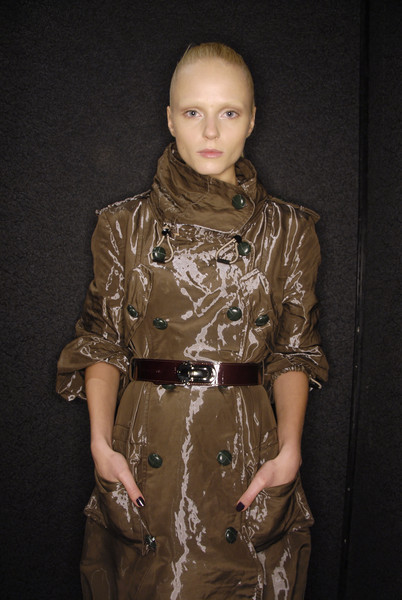 Gaetano Navarra Fall 2008 - Backstage