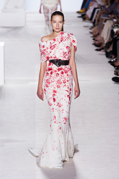 Giambattista Valli's Red Roses