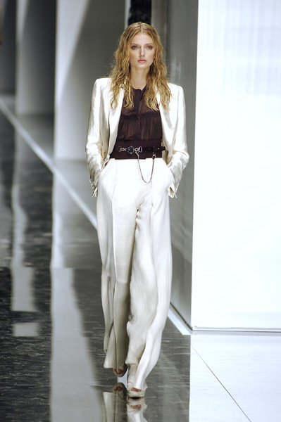 Gianfranco Ferré at Milan Spring 2008