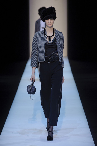 Giorgio Armani at Milan Fall 2013