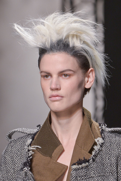 Haider Ackermann's Reckless Hair