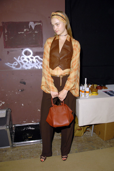 Hermès at Paris Spring 2007 (Backstage)