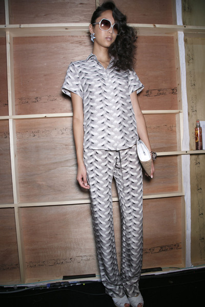 Holly Fulton Spring 2014 - Backstage