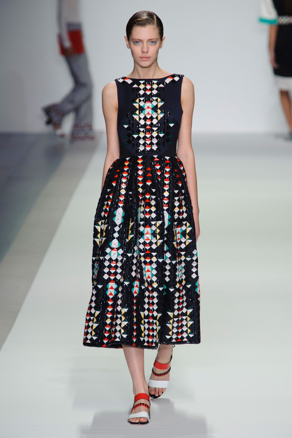 Holly Fulton Spring 2015 The Best Runway Looks At London Fashion Week Spring 2015 Stylebistro