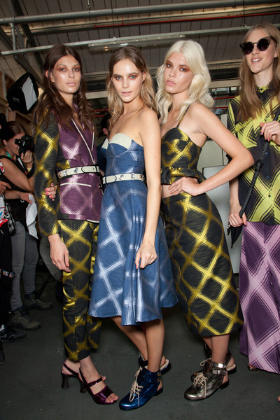 House of Holland Spring 2013 - Backstage