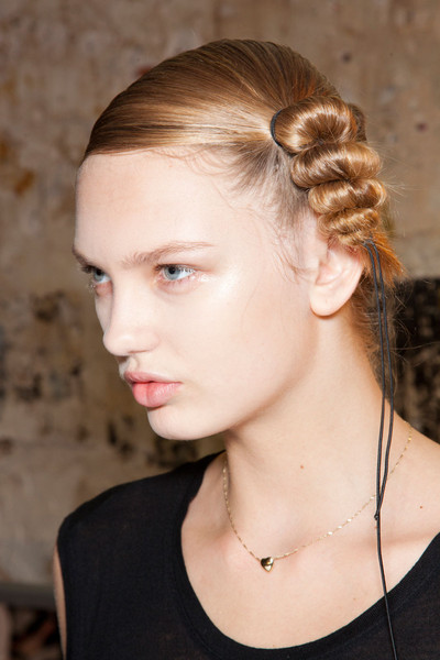 Hussein Chalayan Fall 2012 - Backstage