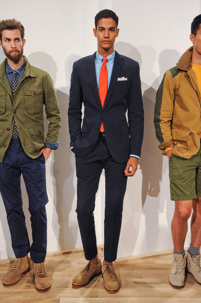 J crew mens at new york fashion week spring 2013 stylebistro for J crew mens looks