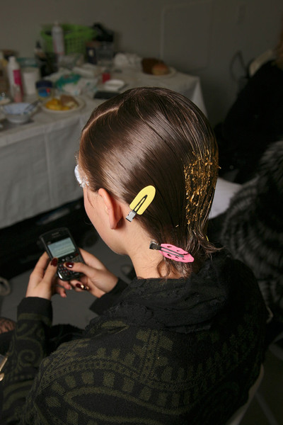 Jason Wu Fall 2011 - Backstage