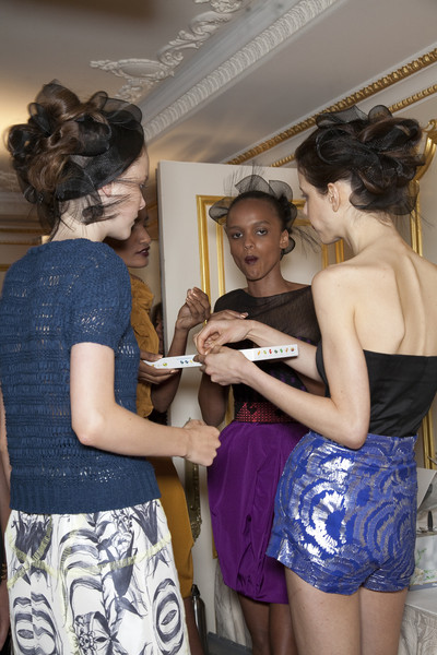 Jason Wu Spring 2010 - Backstage