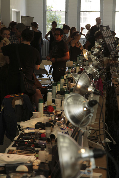 Jason Wu Spring 2012 - Backstage