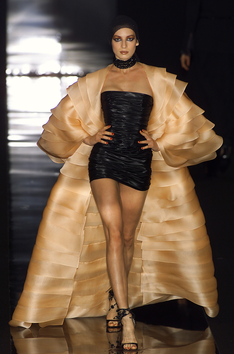 jean louis scherrer at couture fall 2001 stylebistro