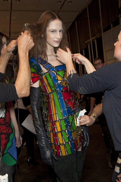 Jean-Charles de Castelbajac at Paris Fall 2010 (Backstage)