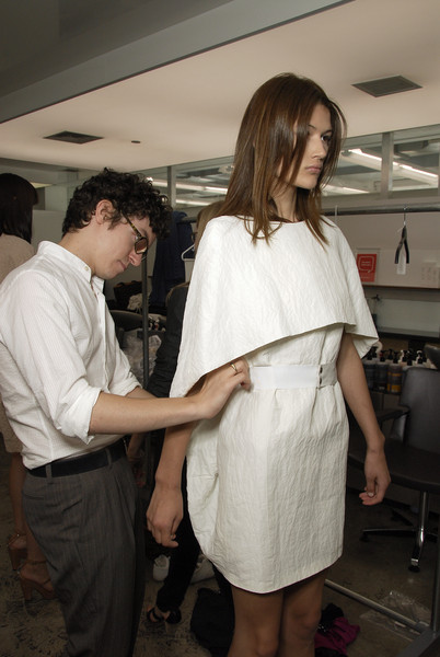 Jeremy Laing at New York Spring 2008 (Backstage)