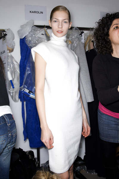 Jil Sander Fall 2009 - Backstage