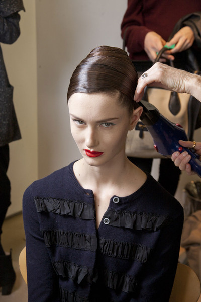 Jil Sander Fall 2011 - Backstage
