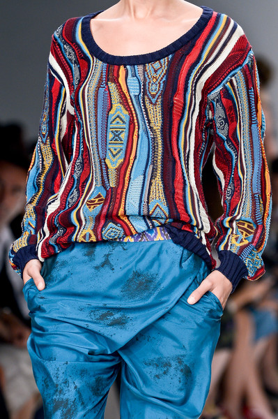 Jo No Fui at Milan Spring 2013 (Details)