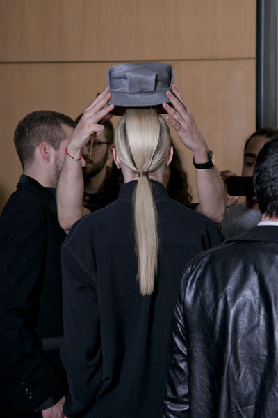 John Galliano Fall 2013 - Backstage