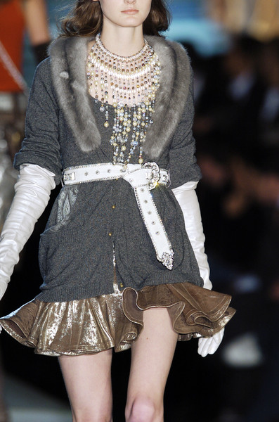 Just Cavalli at Milan Fall 2005 (Details)