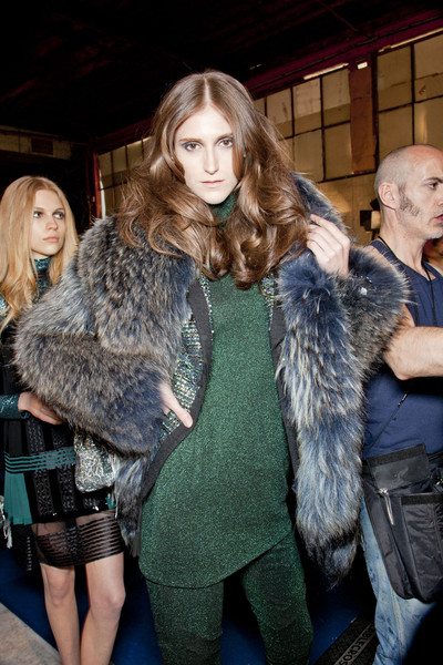 Just Cavalli at Milan Fall 2012 (Backstage)