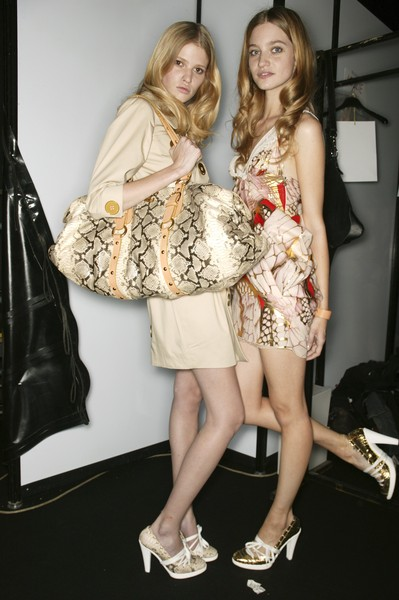 Just Cavalli Spring 2007 - Backstage