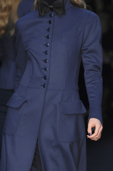 Karl Lagerfeld at Paris Fall 2008 (Details)