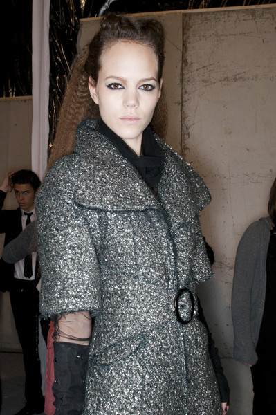 Karl Lagerfeld Fall 2009 - Backstage