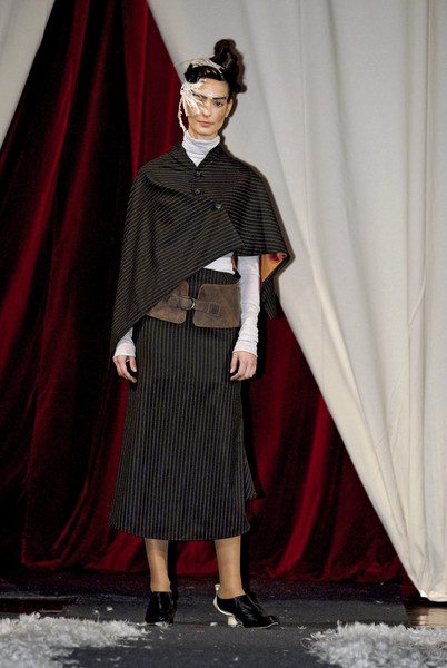 Kei Kagami at Milan Fall 2007
