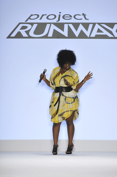 Korto Momolu at New York Spring 2009