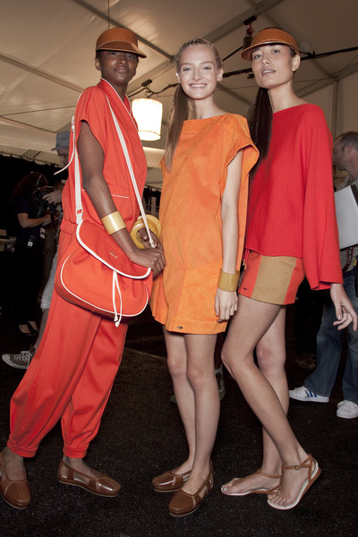 Lacoste at New York Spring 2011 (Backstage)