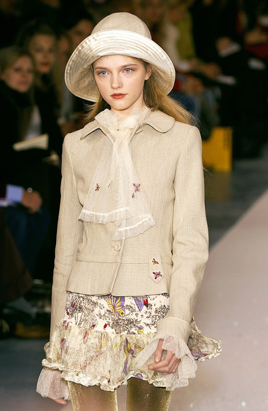 Luisa Beccaria at Milan Fall 2005