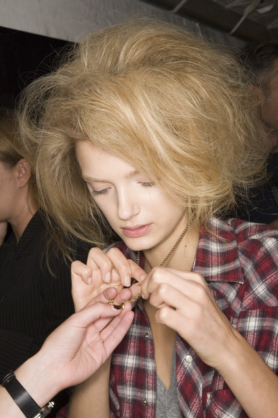 Marc Jacobs Spring 2008 - Backstage