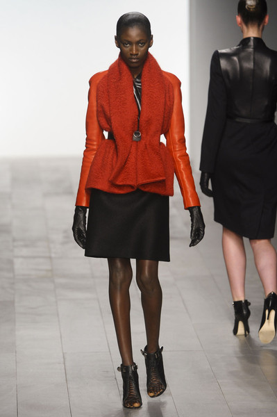 Marios Schwab at London Fall 2011