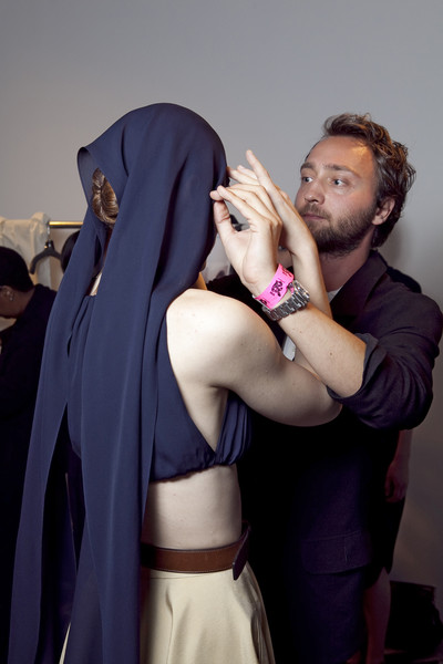 Matthew Ames Spring 2011 - Backstage