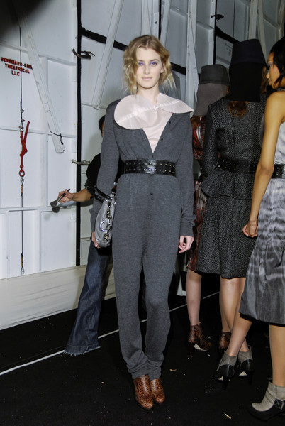 Max Azria Fall 2008 - Backstage
