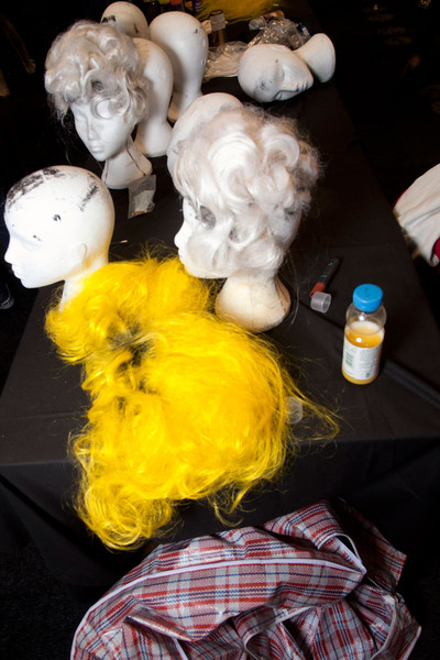 Meadham Kirchhoff Fall 2012 - Backstage