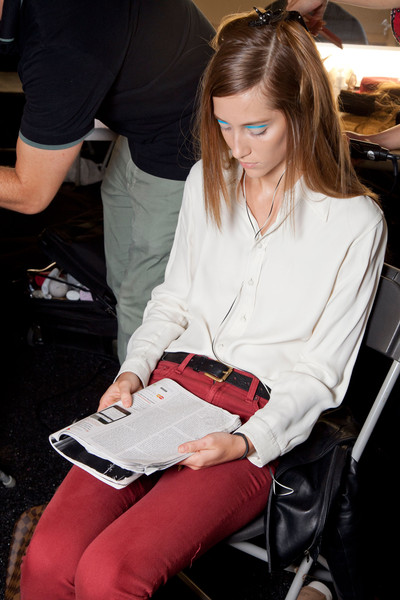 Michael Kors at New York Spring 2013 (Backstage)