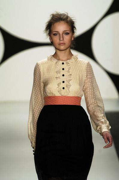 Milly at New York Fall 2006