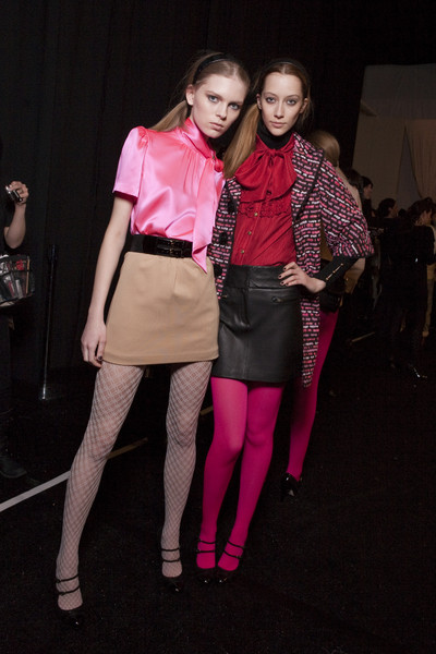 Milly Fall 2010 - Backstage