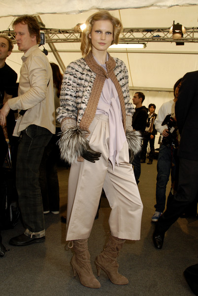 Missoni Fall 2007 - Backstage