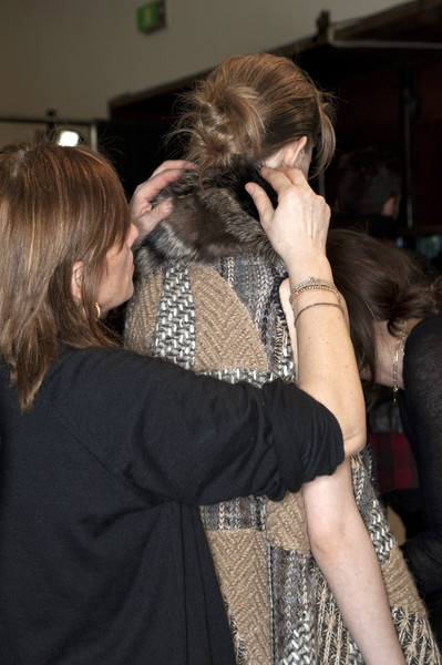 Missoni Fall 2010 - Backstage