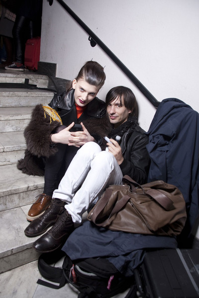 Missoni Fall 2011 - Backstage