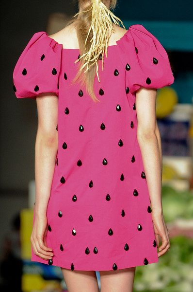 Moschino Cheap & Chic Spring 2012 - Details