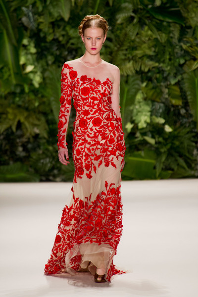 Naeem Khan at New York Spring 2014