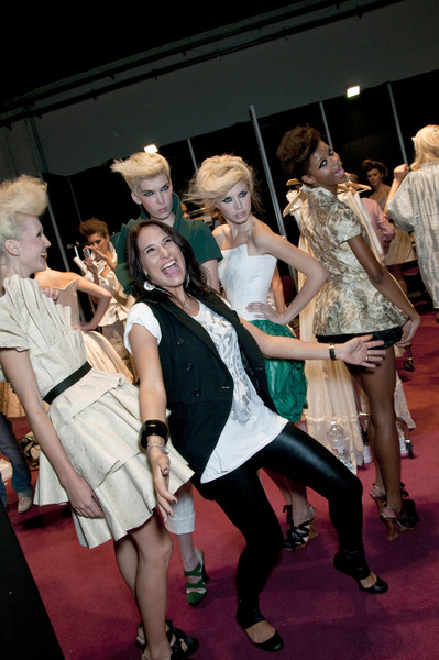 New Upc Des Spring 2010 - Backstage