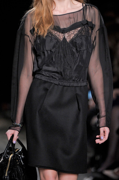 Nina Ricci at Paris Fall 2012 (Details)