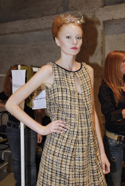 Normaluisa at Milan Spring 2008 (Backstage)