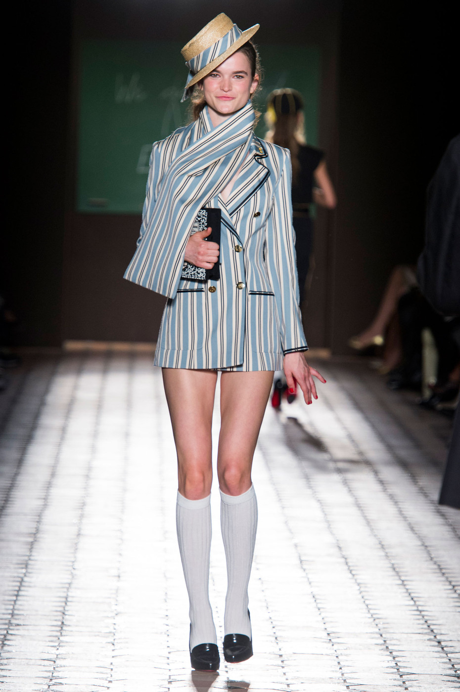 Olympia Le Tan Spring 2015 The Best Runway Looks At Paris Fashion Week Spring 2015 Stylebistro