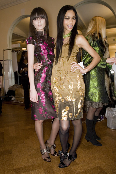 Oscar de la Renta Fall 2008 - Backstage