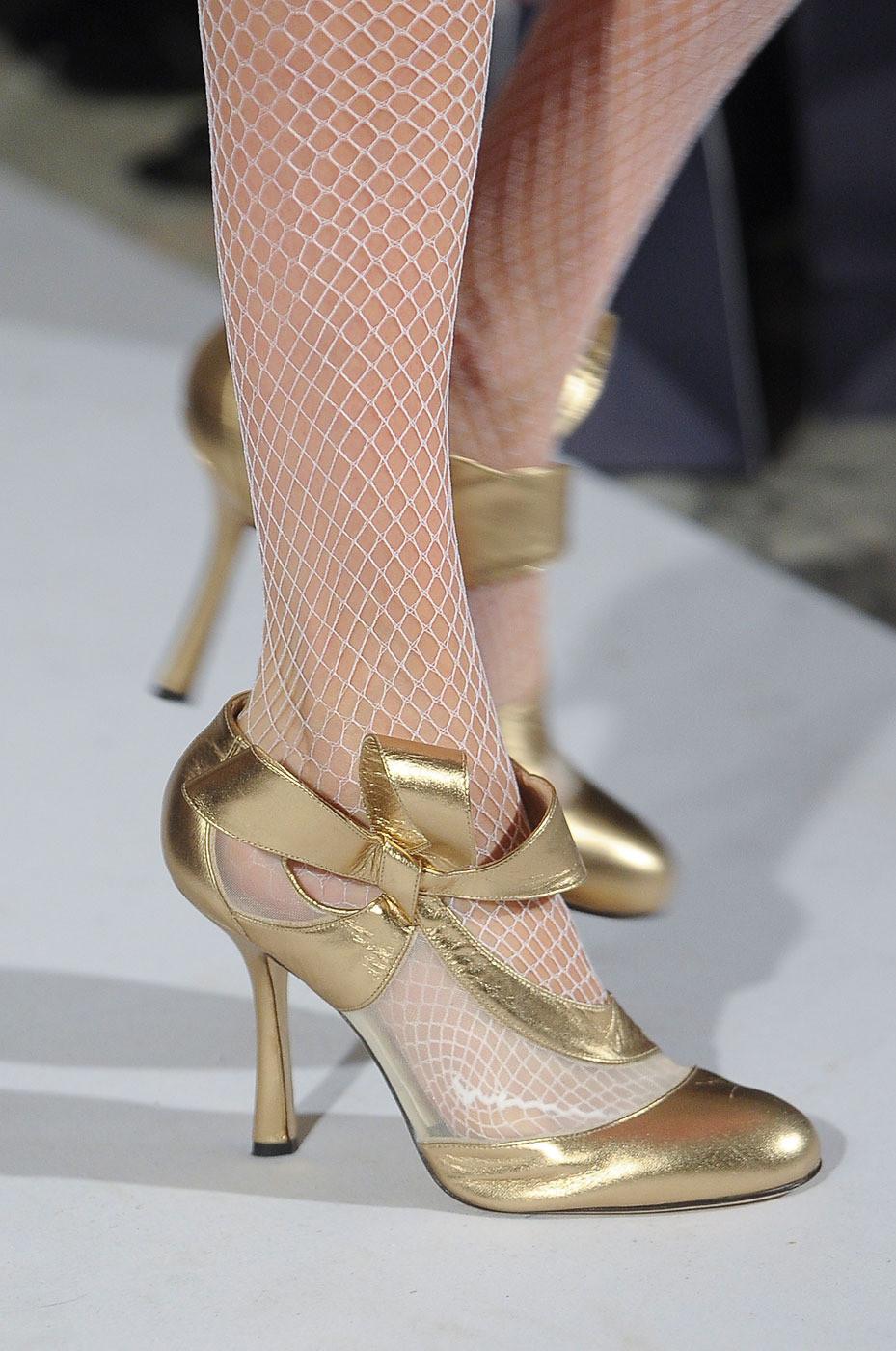 Oscar De La Renta The Best Shoes At New York Fashion