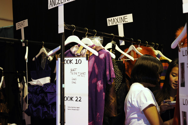 PPQ Fall 2008 - Backstage